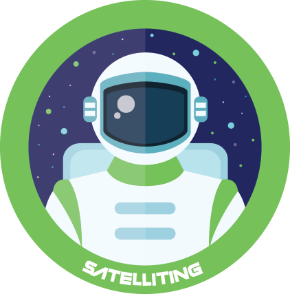 Satelliting Space
